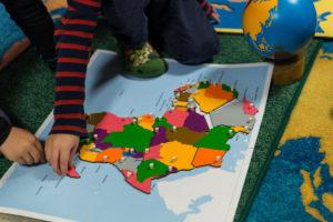 Bambini Montessori Barnehage i Hamar. Foto: Jo E. Brenden