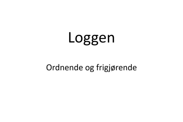 Webinar om loggbok