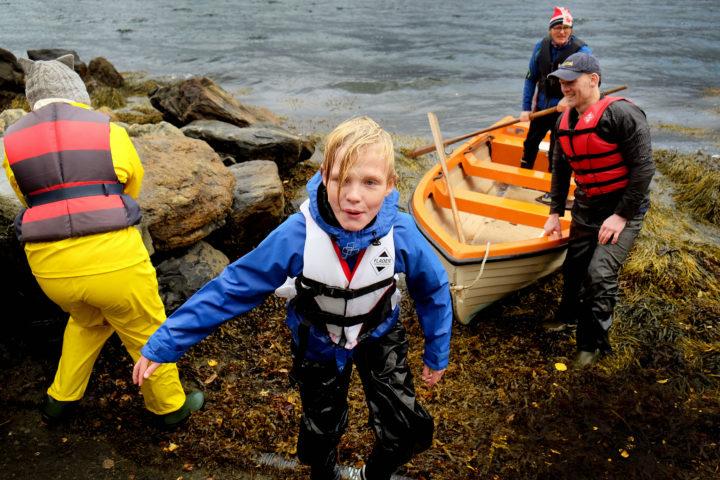 Utesvømming året rundt på Kjølsdalen montessoriskule